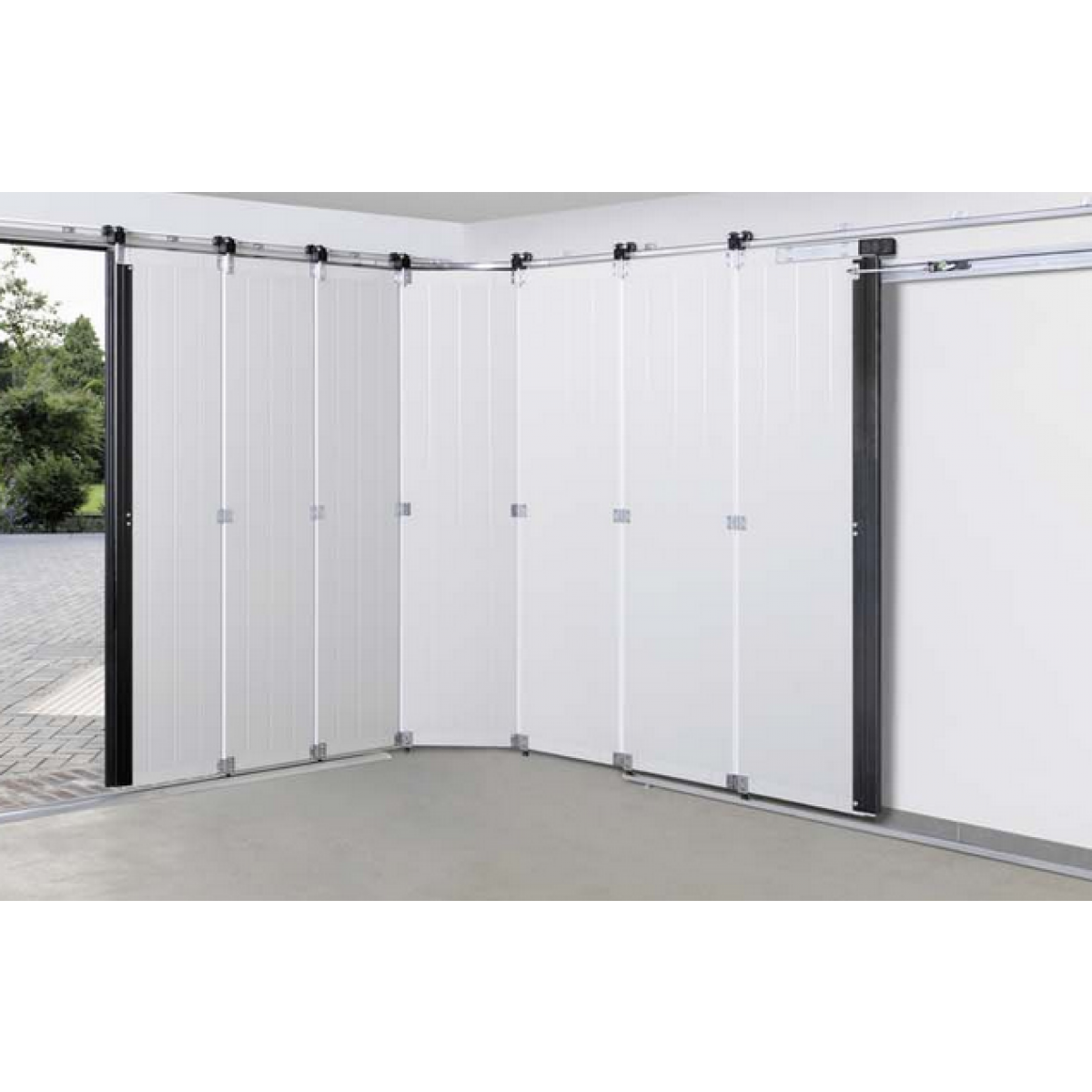 Porte lat rale de garage hst hormann portes de parking for Detecteur porte de garage