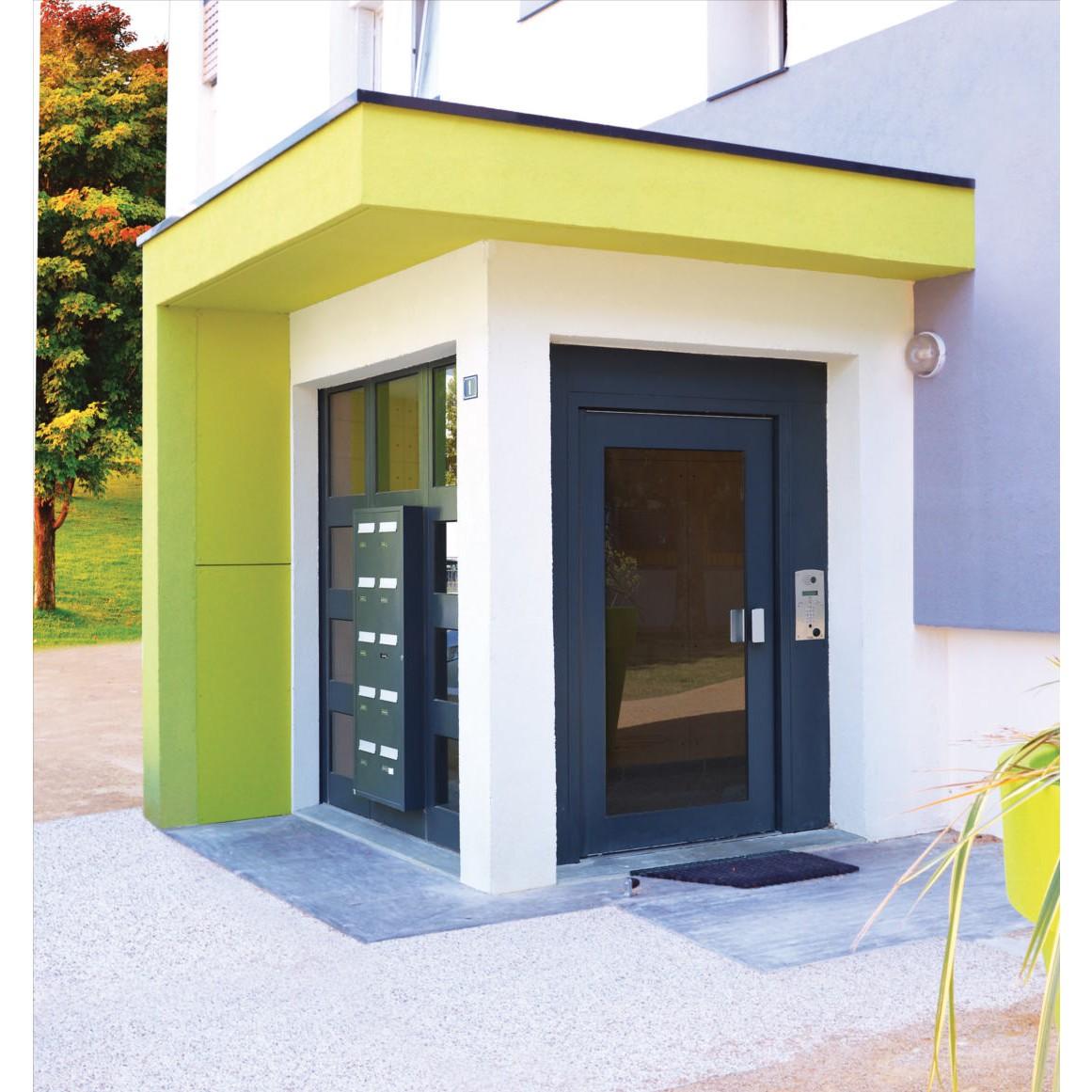 porte d 39 entr e d 39 immeuble gamme s curit renforc e clart. Black Bedroom Furniture Sets. Home Design Ideas