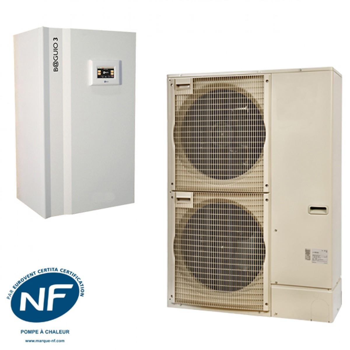 Pompe à Chaleur Luynes → Devis/Coût : Installation PAC Air-Eau, Aerothermie