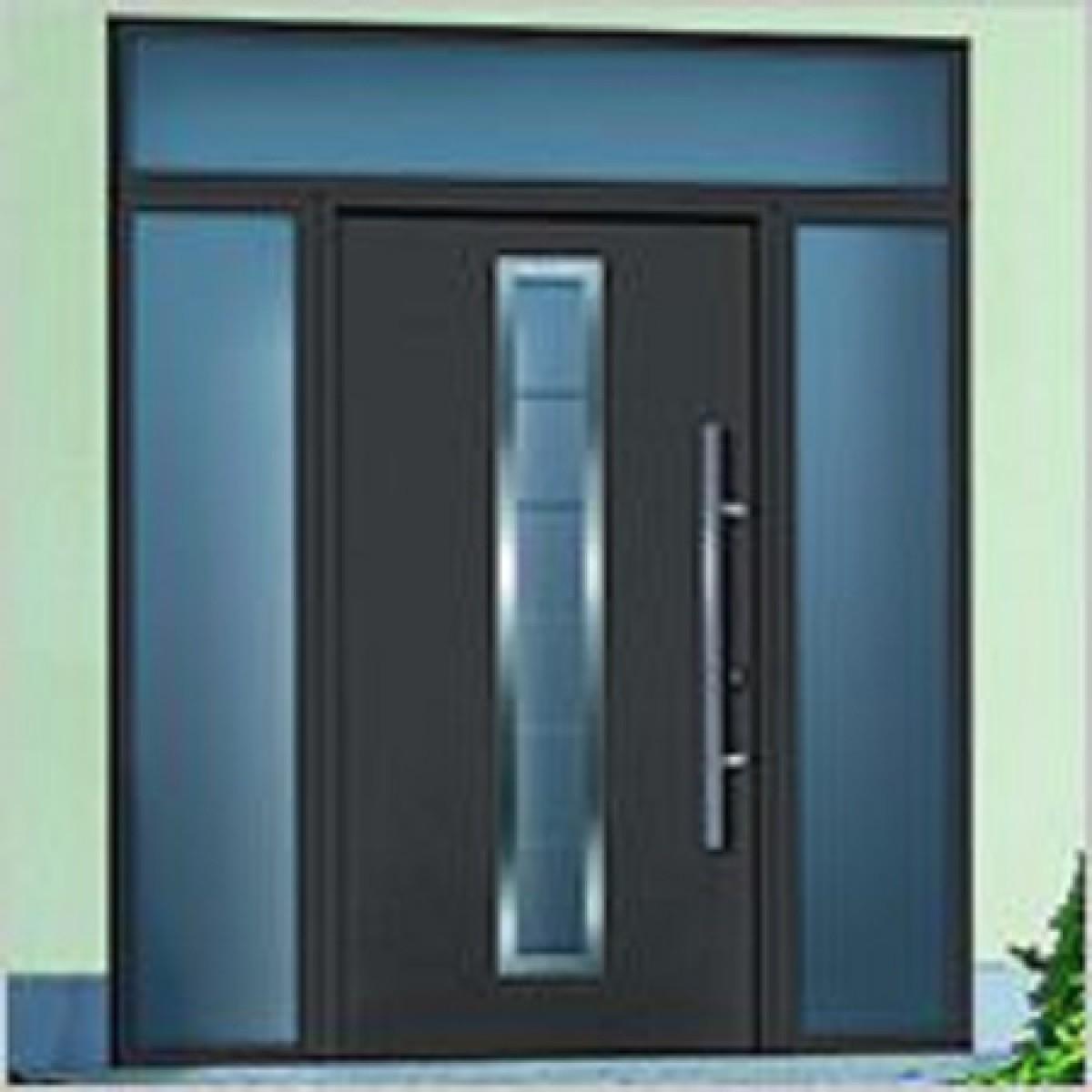 porte lat rale imposte vitr e pour porte d 39 entr e hormann. Black Bedroom Furniture Sets. Home Design Ideas