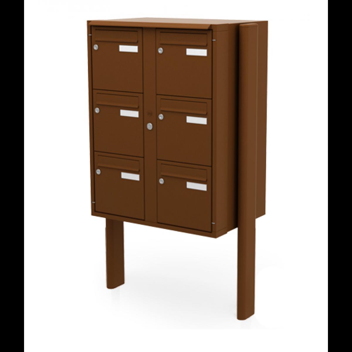 boite aux lettres classica pietement lat ral ext rieur renz. Black Bedroom Furniture Sets. Home Design Ideas