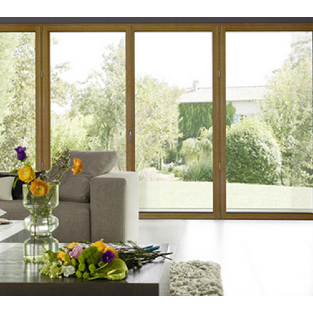 fen tre bois alu m3d la chaleur du bois avec la r sistance. Black Bedroom Furniture Sets. Home Design Ideas