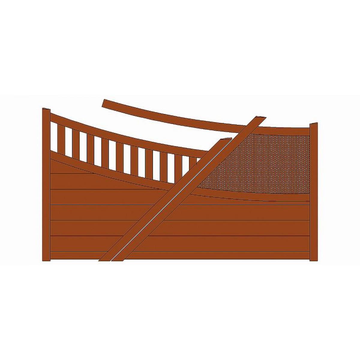 portail alu amamet rothe fermetures portails et portillons. Black Bedroom Furniture Sets. Home Design Ideas