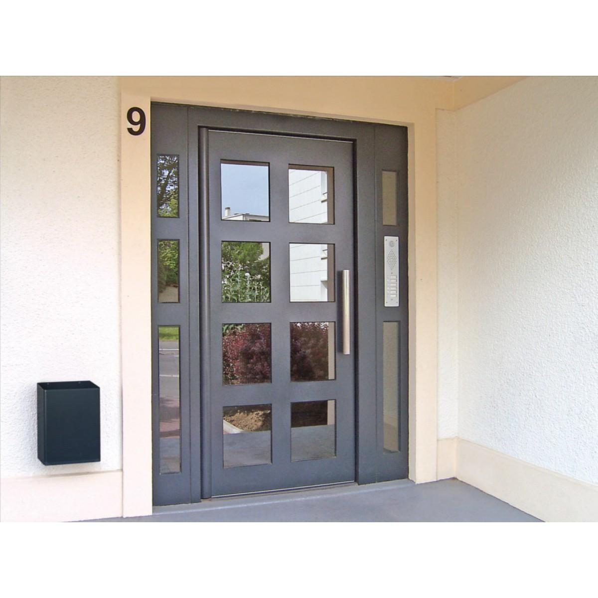 Porte d 39 entr e d 39 immeuble gamme s curit renforc e clart cibox portes de hall - Portes d entrees ...