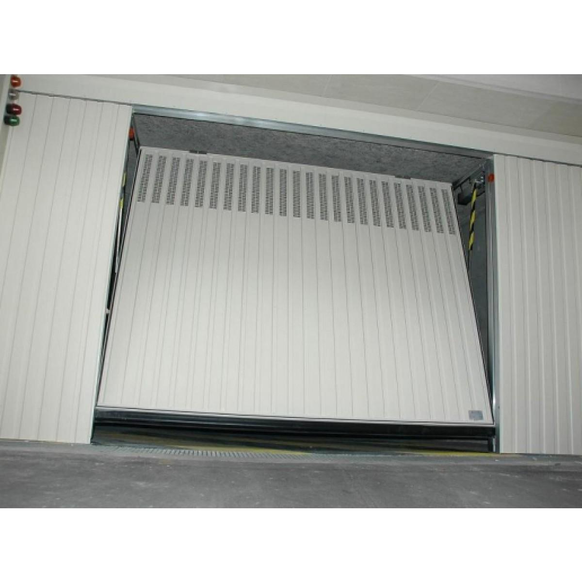 Portes de garage basculantes s400 a ro pluo portes de parking collectifs - Securisation porte garage basculante ...