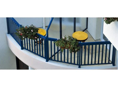 Séparation de balcon (encadrée ou non encadrée)