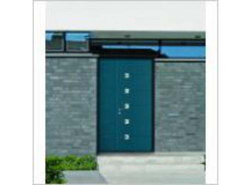 Porte aluminium ADS 60 DL Isopano Schuco