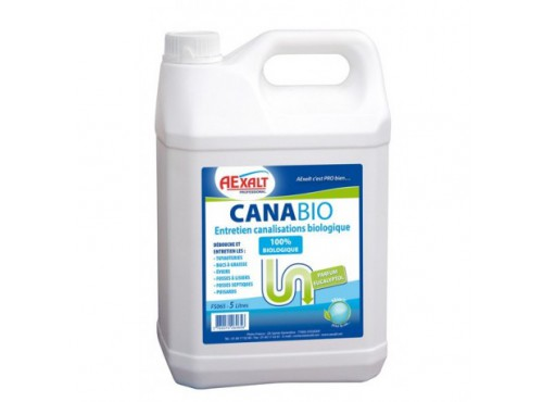 Déboucheur canalisation CANABIO 5L