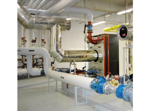 Conduit de raccordement et tubage pour chaudière polycombustible Condensor Poujoulat