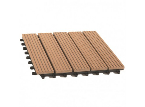 Dalle de terrasse bois composite Modular