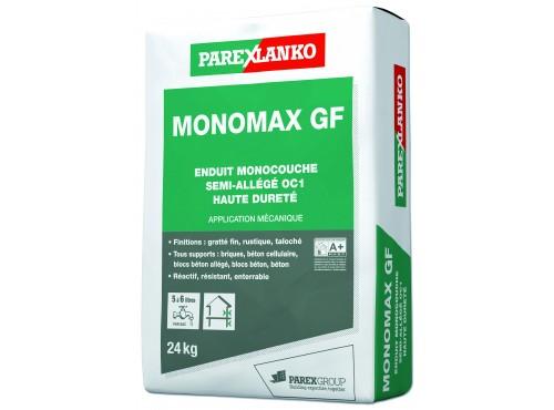 Enduit monocouche semi-allégé grain fin CSIII Monomax GF Parexlanko