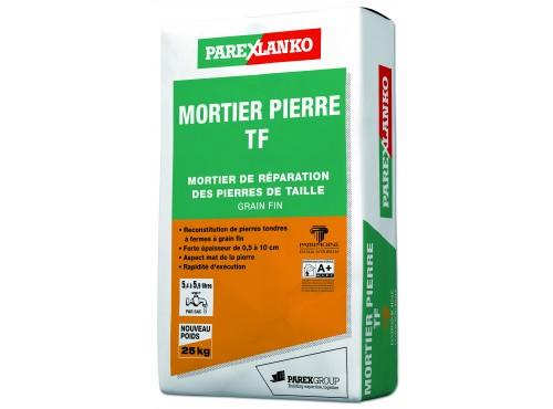 Mortiers de réparation des pierres de taille 0.5 à 10 cm Mortier Pierre TF Parexlanko