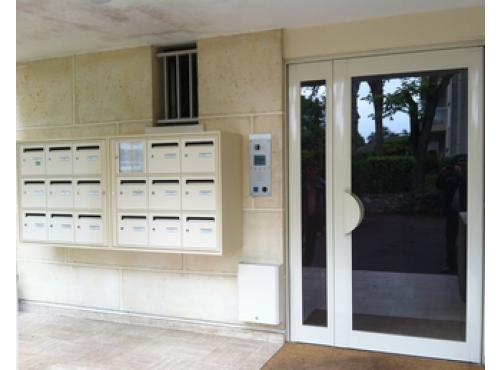 porte dimmeuble en aluminium technal portes de hall