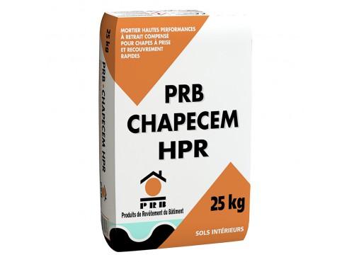 Mortier prêt à l'emploi pour chape  CHAPECEM HPR PRB
