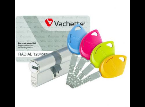 Contrôle d'accès Radial duo Vachette