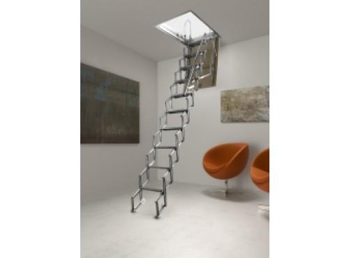 Escalier escamotable pour trappe de toit