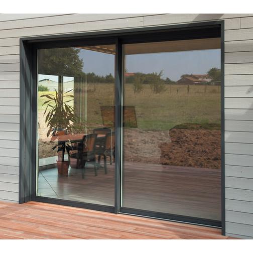 baie vitr e coulissante aluminium aliz a murs et fa ades. Black Bedroom Furniture Sets. Home Design Ideas