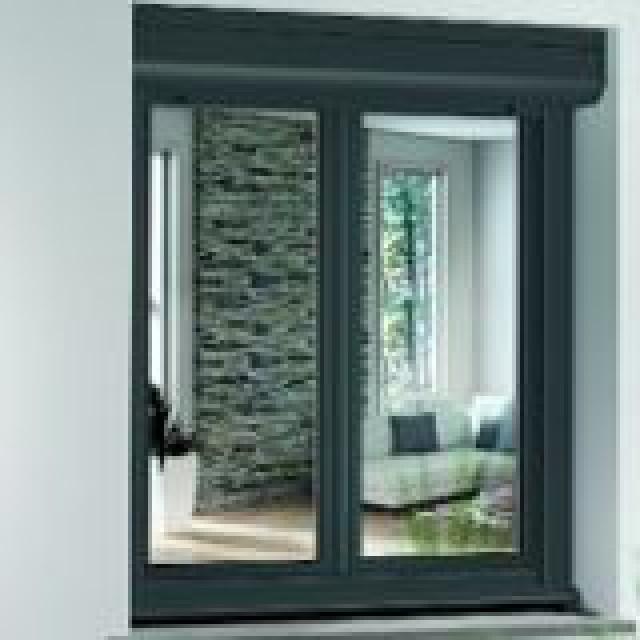coffre de volet roulant ext rieur exthr me rehau murs et fa ades. Black Bedroom Furniture Sets. Home Design Ideas