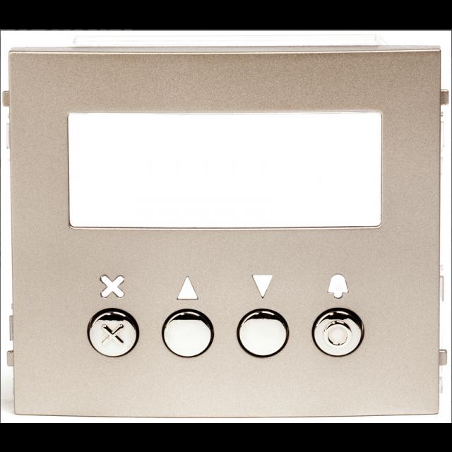 Façade pour module afficheur Aiphone