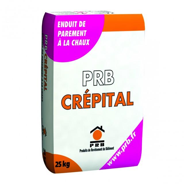 Enduit de parement finition minérale PRB CRÉPITAL