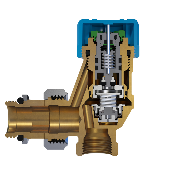 Robinet thermostatique autoéquilibrant AutoSar Comap