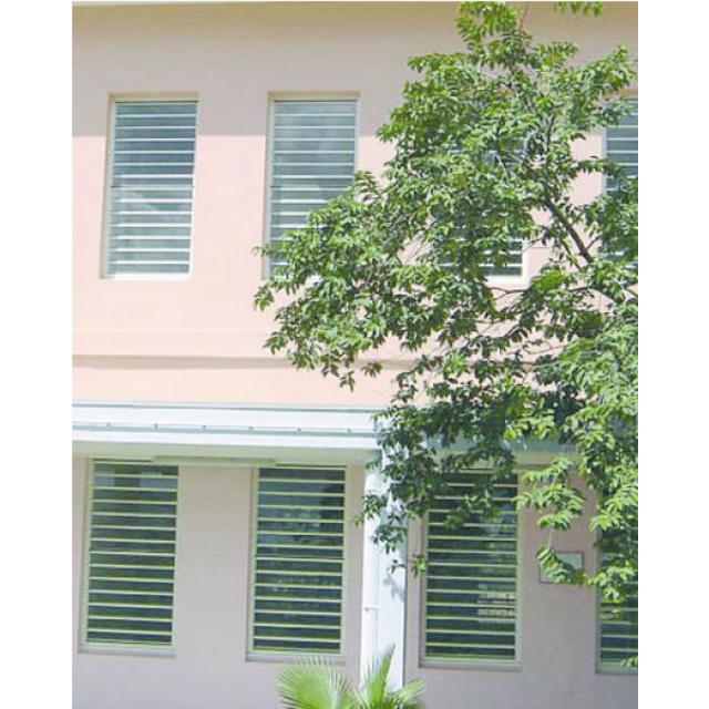 Système d'occultation et de ventilation naturelle Safetyline Technal