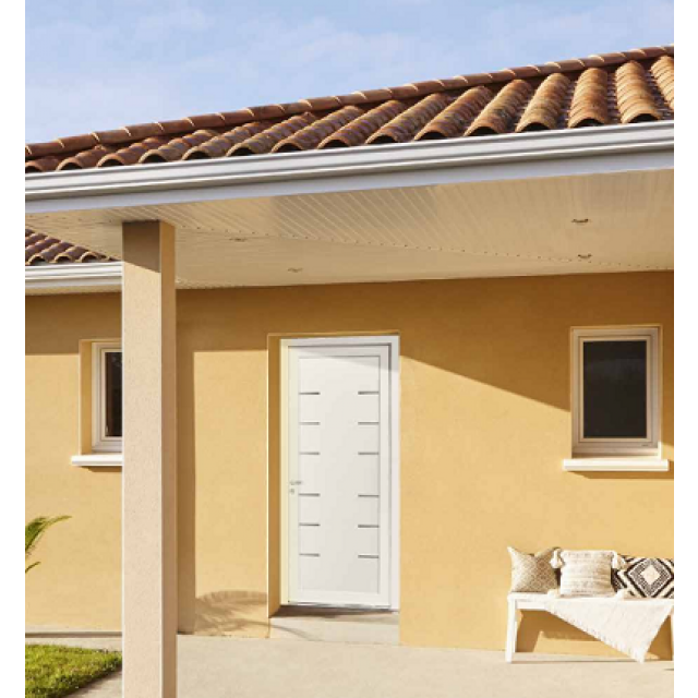 Portes d'entrée PVC Swao