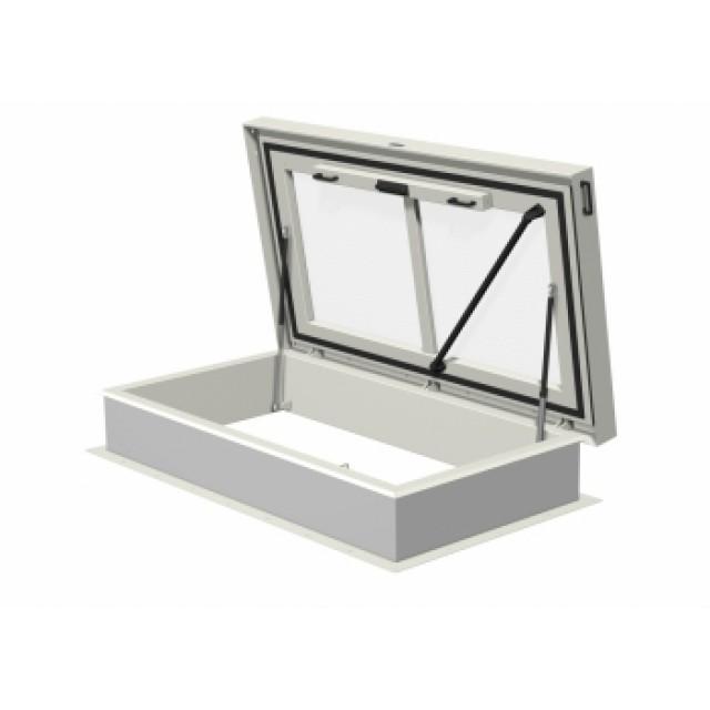 Trappe de toit avec fenêtre 1800x900