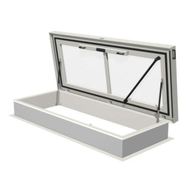 Trappe de toit avec fenêtre 2400 x 900