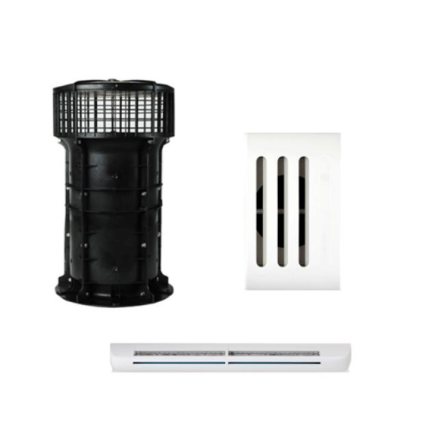 Système de ventilation naturelle assistée VNR – HELYS Acthys