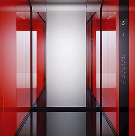 Ascenseur grand trafic pour tout type d'immeubles jusqu'à 50 niveaux - Schindler 5500