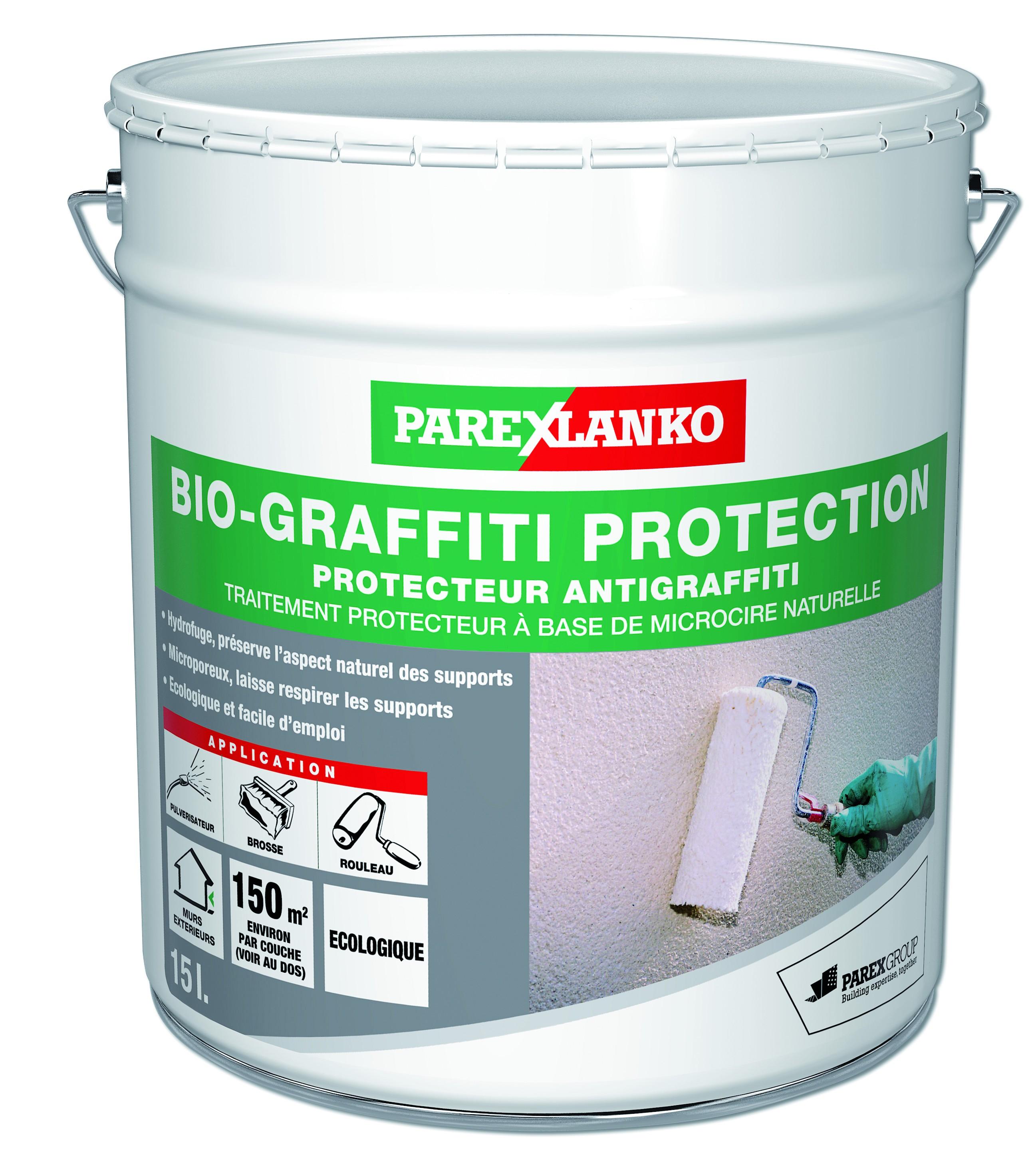 Protecteur anti-graffiti écologique Bio Graffiti Protection Parexlanko