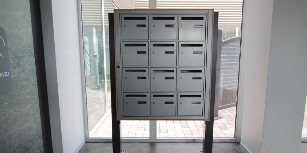 bo tes aux lettres collectives smf services. Black Bedroom Furniture Sets. Home Design Ideas