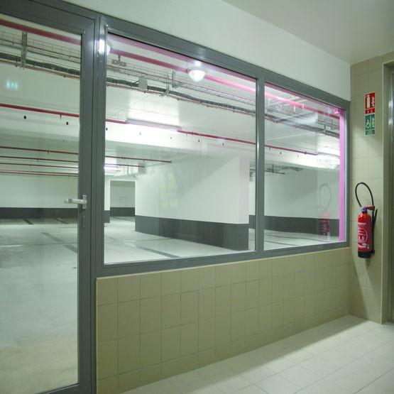 Cloison vitrée modulaire EI30 SMFeu