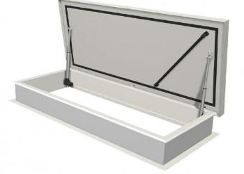 Commande électrique pour trappe de toit