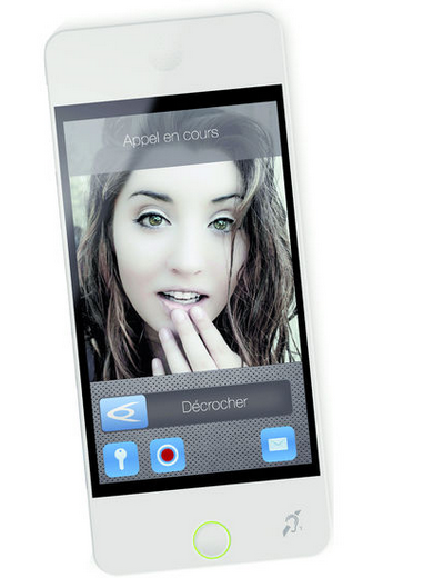 Tablette visiophone Diaphone Diamo