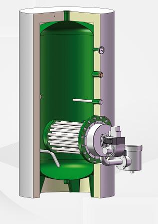 Générateur ECS à gaz à condensation +ECO GAZ ATL ou INOX Charot