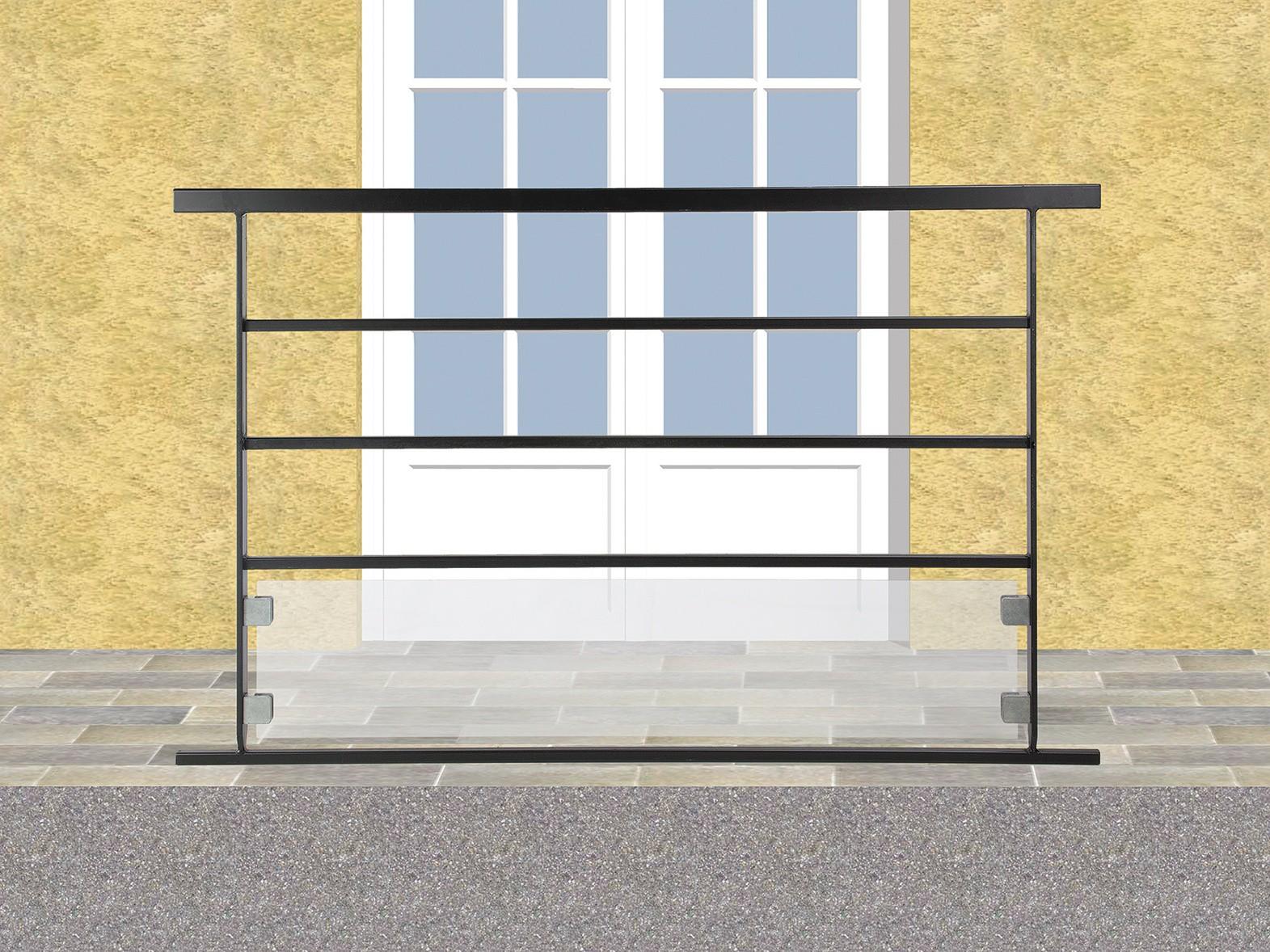 Balcon en fer forgé Rodolphe