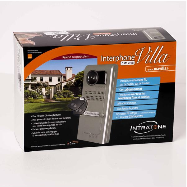 Interphone villa visio 3G Intratone