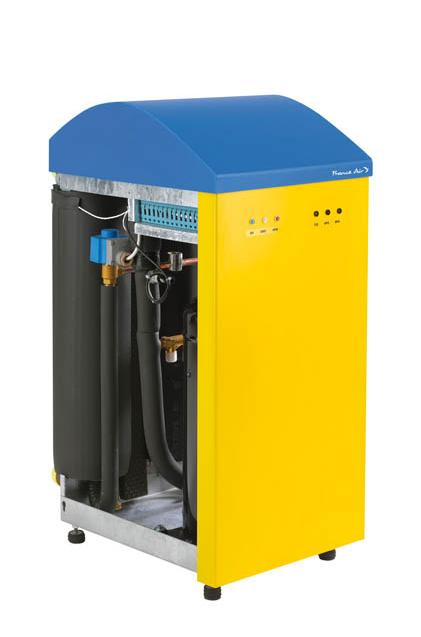 Chauffage Lyxos avec capteur solaire France Air