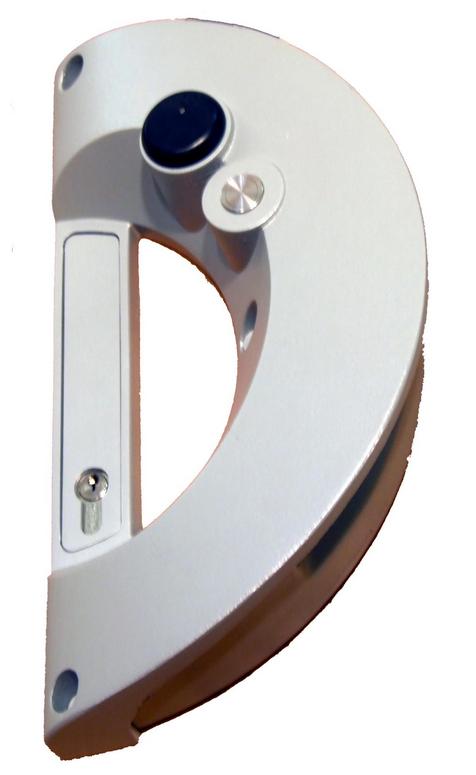 Poignée autonome avec lecteur de badge Intratone