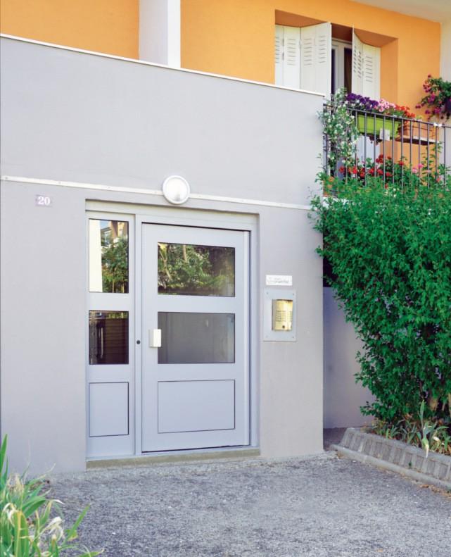 Porte de hall certifiée A3/E6B/VC3 Gamme Cib'AEV Cibox