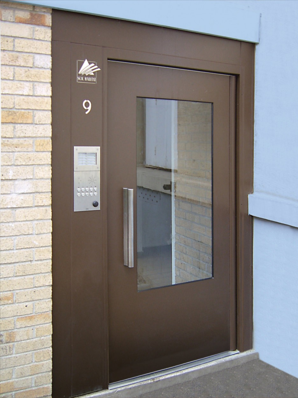 Porte de hall isolante Gamme Cib'Isol Cibox