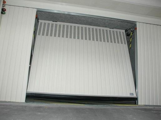 Portes de garage basculantes s400 a ro pluo portes de for Alarme porte de garage basculante