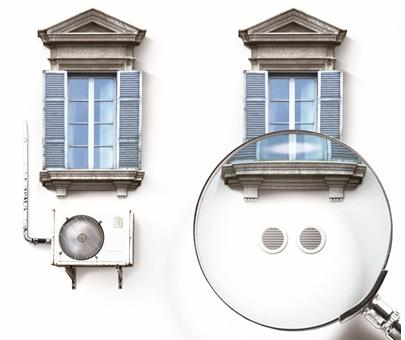 Système autonome de climatisation et chauffage Gamme UNICO Olimpia Splendid