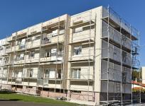 Isoler un immeuble lors d'un ravalement de façade