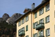 Désordres de peinture au balcon