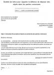 Modèle de lettre pour rappeler l'interdiction de déposer des objets dans les parties communes