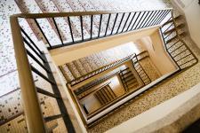 Refaire le sol d'un escalier