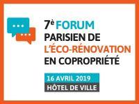 7ème édition du Forum de l'éco-rénovation en copropriété